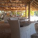 海滩边的餐厅