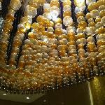 楼层的水晶灯