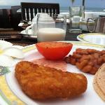 海濱自助早餐