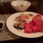 寿司与西瓜