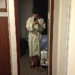 酒店的睡衣很有意思