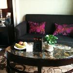 沙发,水果