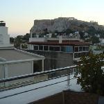 阳台看卫城