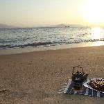 鼓浪屿的沙滩