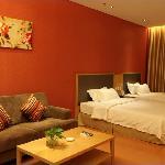 家庭房,1张1.2m的床和1张1.5m的大床