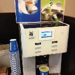 免费的lavazza咖啡和l抹茶是亮点