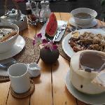 丰盛的泰式早餐