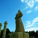 李世民的雕像 很霸气