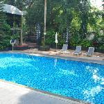 游泳池,室外,11月底的温度还是非常舒服的