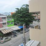 房间看的街景