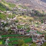 甲居藏寨全景
