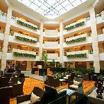 半山酒店中庭