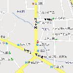 如家酒店昆明东站店地图
