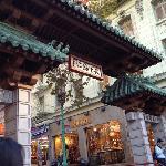 唐人街入口