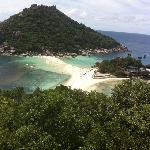 度假村俯视南园岛