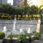 门口小喷泉