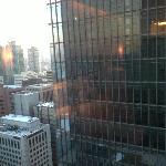 首尔康莱德的窗外