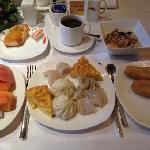 行政酒廊的早餐
