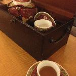 客房欢迎茶水