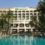 酒店泳池及外观