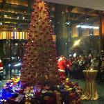 大堂庆祝圣诞仪式