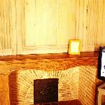 客房内可以使用的壁炉