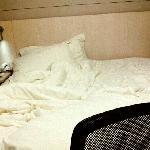 好舒服的床