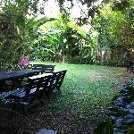 很幽静的小庭院