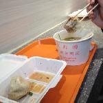 第一食品 生煎和老鸭粉丝汤