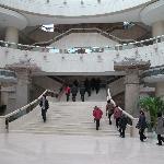 博物馆内部