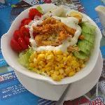 新鲜的沙拉