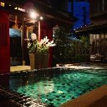 banthai village小院泳池