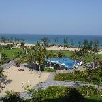 三亚海棠湾万达希尔顿逸林度假酒店阳台景观