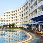 珠江花园酒店游泳池