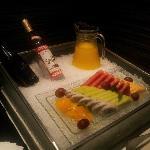 上海西郊假日酒店酒廊食物