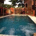 酒店另一个游泳池