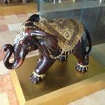 餐厅的印度象雕