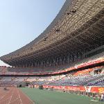 奥体中心足球场内景