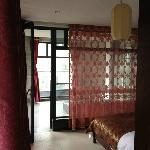 房间很中式