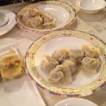 吃了好多饺子