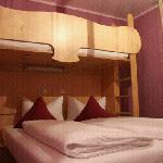 酒店家庭房房间