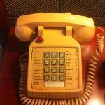 客房里的老式电话
