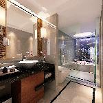豪华房洗手间