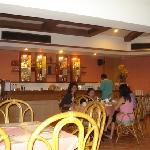 酒店的早餐厅