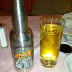 酒店餐厅的大理啤酒