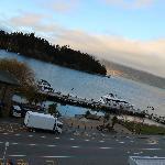 从酒店阳台上看湖景2