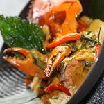 捞叶黄咖喱蟹