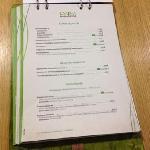 show the menu