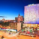 广西锦华大酒店夜景