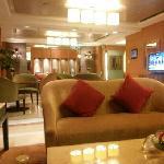 行政酒廊,有自助早餐,晚餐,下午茶